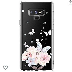 Galaxy Note 9 Floral Case